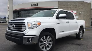 2017 Toyota Tundra Crewmax Limited Review - Brampton ON - Attrell Toyota