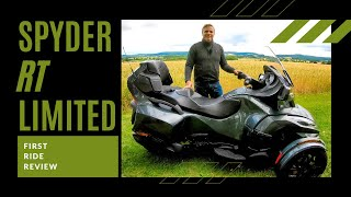 2019 Can-Am Spyder RT Limited  | First Ride | Review | EN/DE Subs