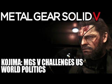 Binary News | Metal Gear Solid 5 - MGS V Challenges US World Politics Says Hideo Kojima - Opinions