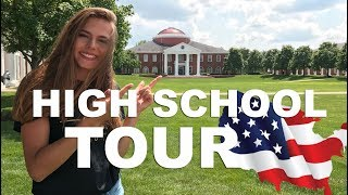 HIGH SCHOOL TOUR IN AMERICA! - BACK TO SCHOOL 2017 (ENGLISH SUBTITLES)