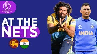 SRI v IND - At The Nets | ICC Cricket World Cup 2019