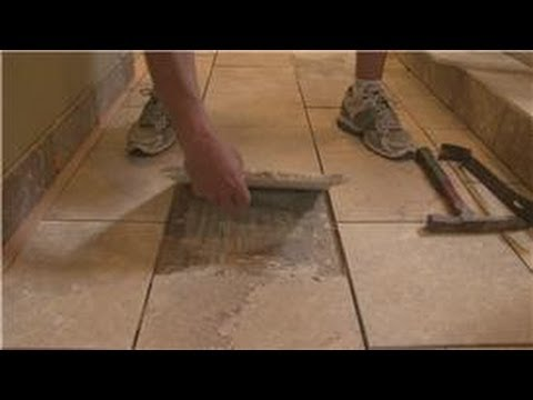 Remove ceramic tile without breaking