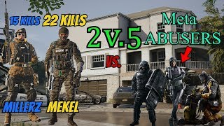 (2v5) Am I Able To Comeback? (21 Kills) Contains *RAGE* - Rainbow Six Siege