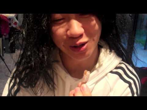 Asian snack FOOD test - vlog #85