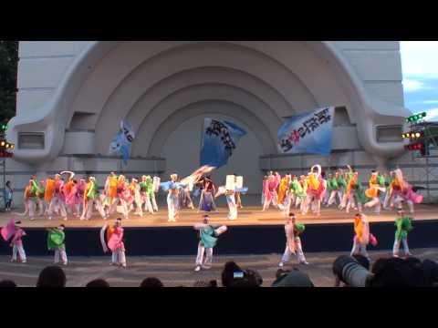 子鳩子兎 横浜百姫隊 ~2014スーパーよさこい・1日目(代々木公園ステージ)