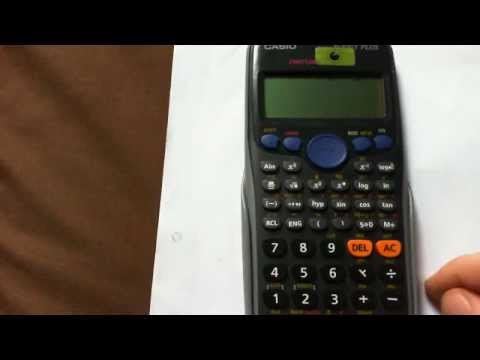 How to calculate mean and standard deviation on a casio fx-83gt calculator