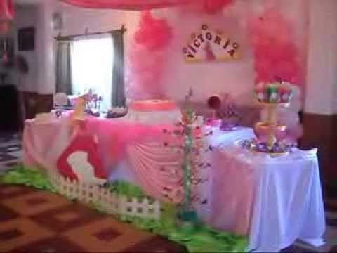 Decoracion princesa la bella durmiente youtube for Decoracion de princesas