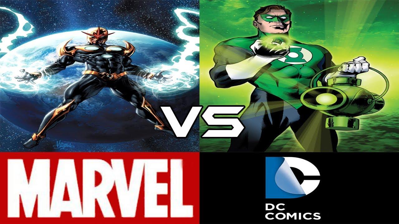 Nova VS Green Lantern (CBVS#8) - YouTube