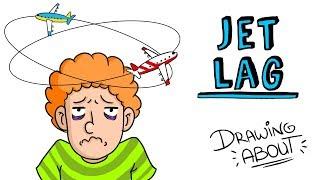 JET LAG ✈ | Draw My Life