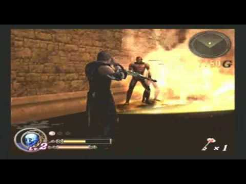 God Hand W/ Commentary P.7 - Fights Break Out In Fire Buildings Video