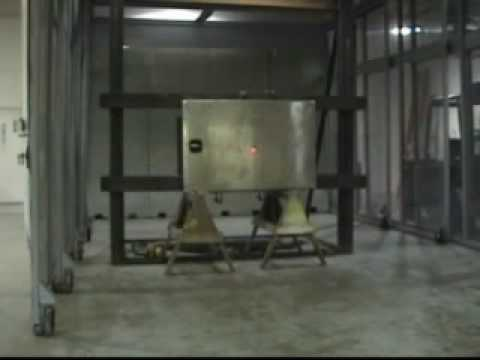 Underground Tornado Shelter FEMA 320 Door Testing