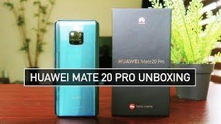 Huawei Mate 20 Pro Unboxing - PUBG, Fortnite & Green Screen TEST | Zeibiz