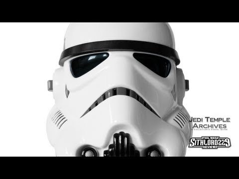 Auto Racing Replica Helmets on Master Replicas Scaled Replica Stormtrooper Helmet