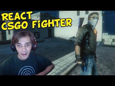 REACT - CS:GO FIGHTER ALPHA