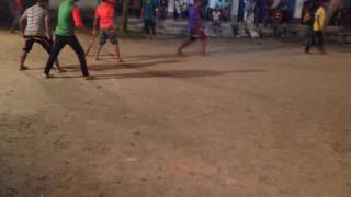 Night Cricket on Eid Celebration