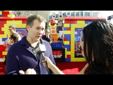 Chris McKay At The Lego Movie Premiere!