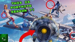 So This is Season 7!? (Fortnite Battle Royale)