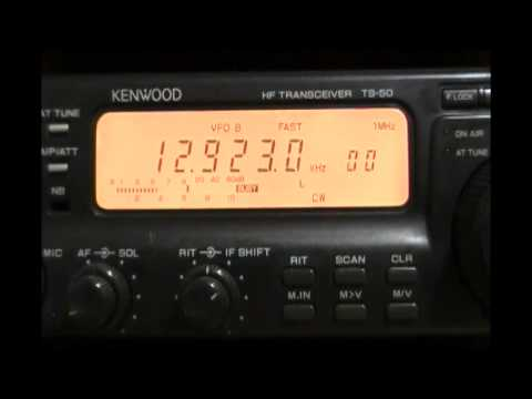HLW Seoul Coastal Radio (South Korea) - 12923 kHz (CW)