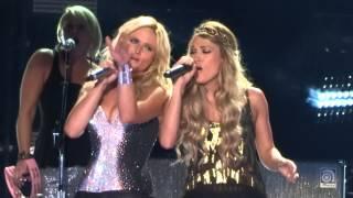 Miranda Lambert Duet With Carrie Underwood Somethin 39 Bad Live At Cma Fest 2014 1080p Hd