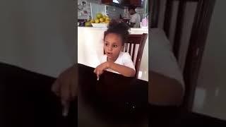 baby Danait preaching