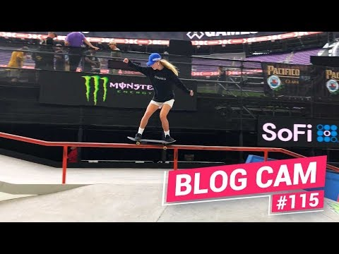 Blog Cam #115 - X Games Minnesota Practice 2019
