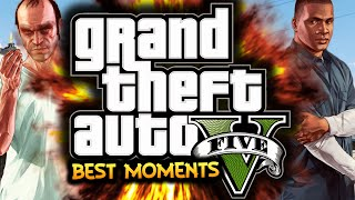 GTA 5: Best Moments Montage! - (GTA 5 Funny Moments - Online / Single Player)