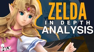 Super Smash Bros. Ultimate - Zelda In-Depth Analysis (Buffs, Nerfs, Frame-Data, Aesthetics)
