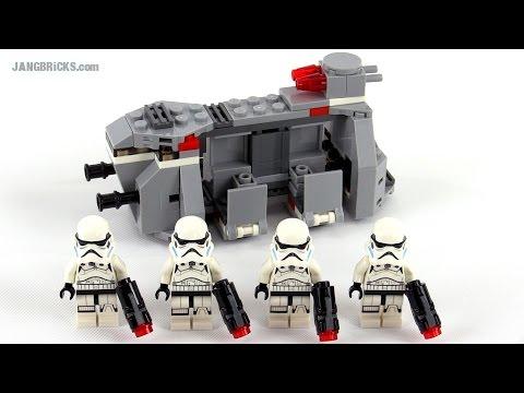 LEGO Star Wars Imperial Troop Transport review! set 75078