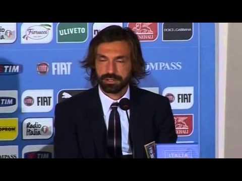 Italia, Pirlo: 'Tornato in Nazionale per Conte'.