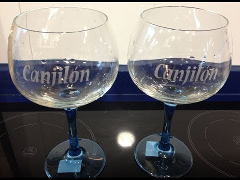 Tutorial de grabado vidrio o cristal
