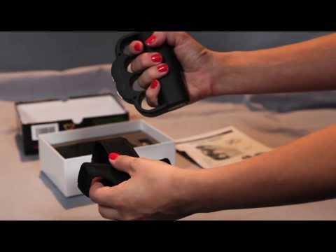 ZAP Blast Knuckles 950,000 Volt Stun Gun - ZAP Blast Knuckles introduction video.