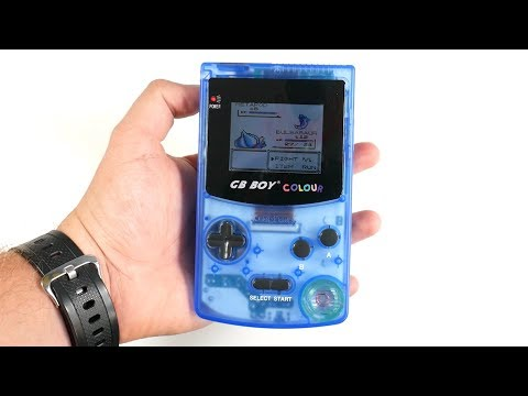 This FAKE Gameboy Color Is BETTER Than Original