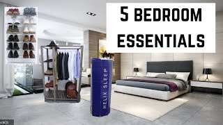 5 Bedroom Essentials To Upgrade Your Room!