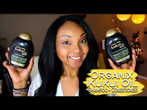 New!!! Organix Kukui Oil Shampoo & Conditioner (Review)