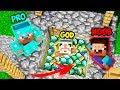 Minecraft NOOB vs PRO vs GOD : FOUND HIDDEN TREASURE IN VILLAGE WELL in Minecraft | Animation