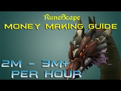 Runescape P2p EoC Money Making Guide / 2m – 3m + per hour / 2013 commentary method