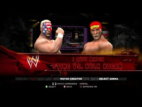 Sting vs. Hulk Hogan Last Man Standing