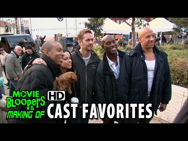 Furious 7 (2015) Cast Favorites - Favorite Family Scene