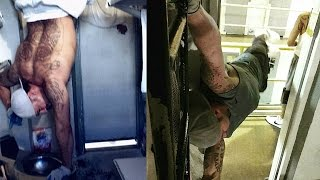 Actual PRISON Workout (Raw Footage!)