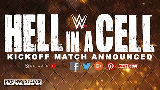 Kickoff Match Announced For Sunday's Hell In A Cell
