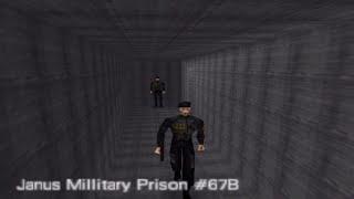 GoldenEye 007 N64 Prison (Custom Level) 00 Agent