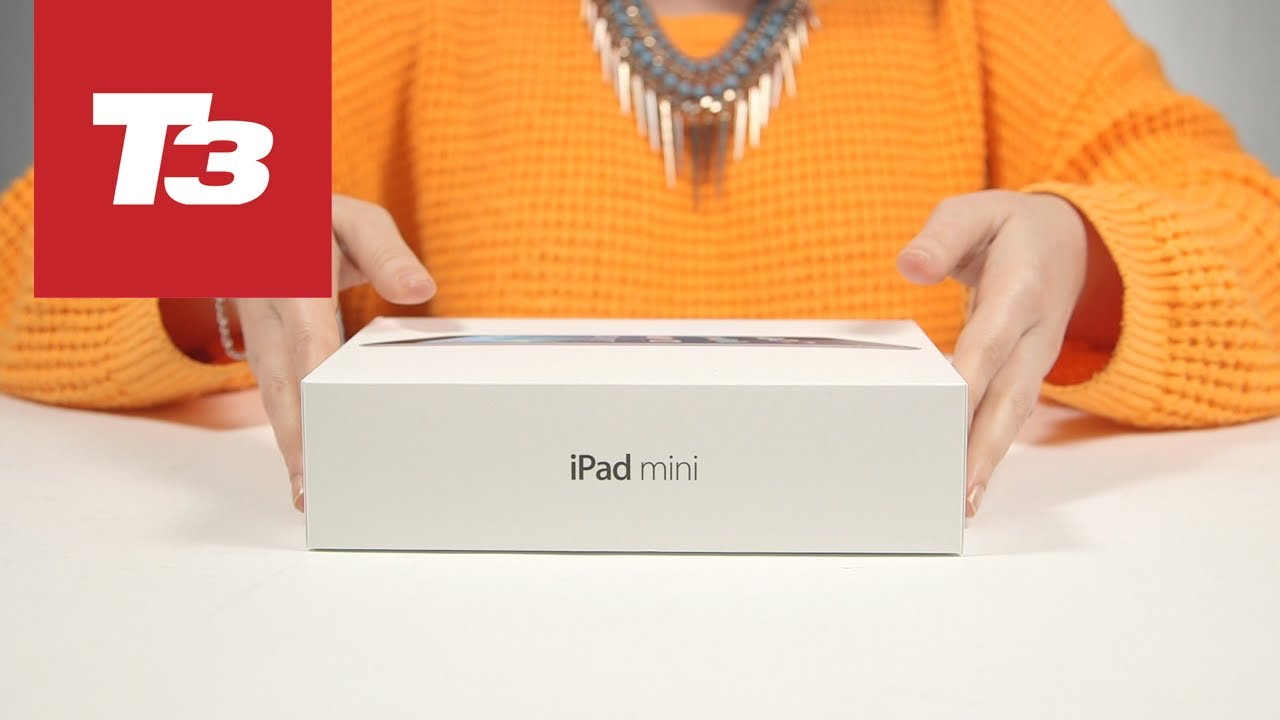 Box of Ipad Mini With Retina Display Ipad Mini Retina Unboxing 2013