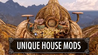 Skyrim: Four Unique Player House Mods