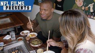 Jonathan Stewart's Love for New York Food   NFL Films Presents