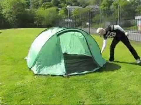 how to pack away pop up tent