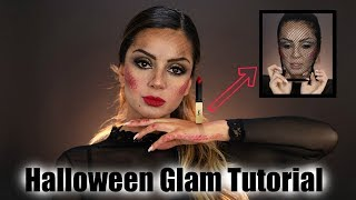 Letzte Minute ⏰ * not lame * Halloween Glam Make-up 🕯 | YSL Beauty | Tamtam Beauty