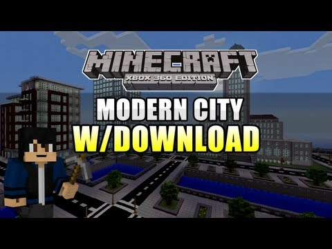 Minecraft Xbox 360 - Modern City (w/Download)