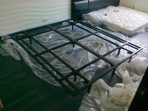 Как сварить кровать - видео