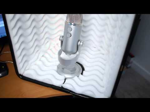 DIY $23.00 Mini Sound Booth build in under an hour.