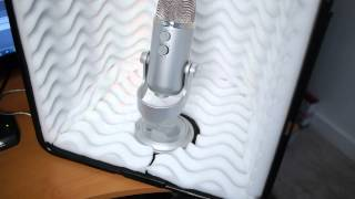 How to build a vocal booth in a bedroom